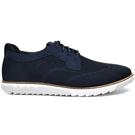 Hush Puppies Herrskor Expert WT Oxford Navy Knit Nubuck
