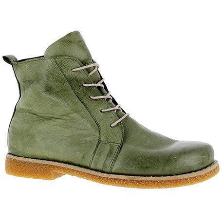 Charlotte Boots Lace Eve Olive hos Minfot.se