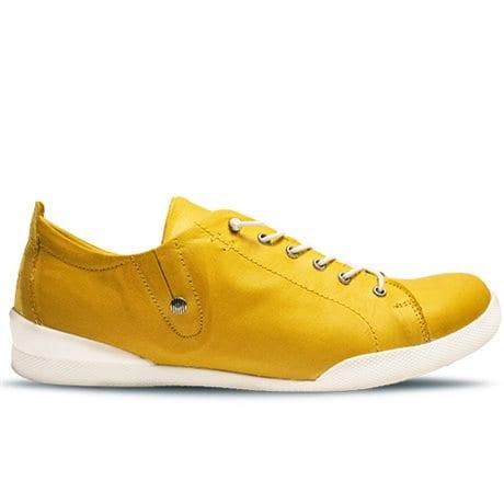 Charlotte Sneaker Lace Yellow