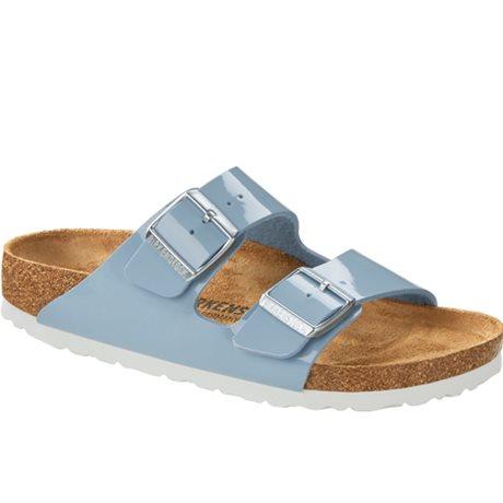Birkenstock Sandaler Arizona Patent Dove Blue