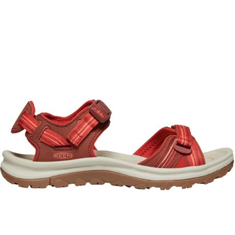 Keen Terradora II Open Toe Sandals Dark Red Coral