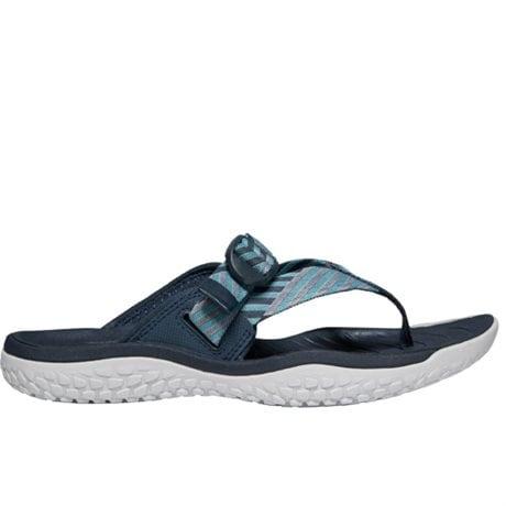 Keen Womens SOLR Toe Post Sandals Navy Blue Mist