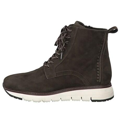 Tamaris Lace Boot Flat Olive