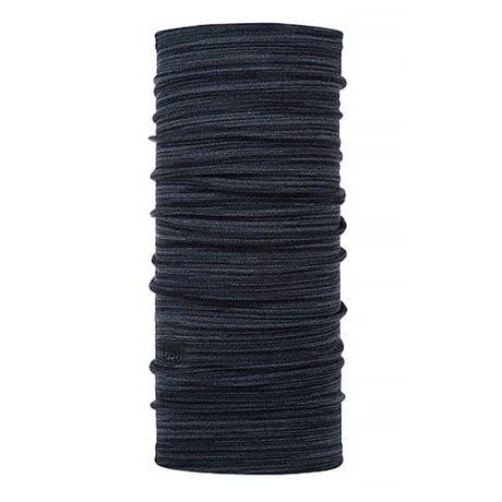 Buff Midweight Merino Wool Denim Multi Stripes