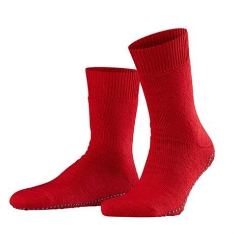 Falke Homepads Men Non-slip Socks Scarlet