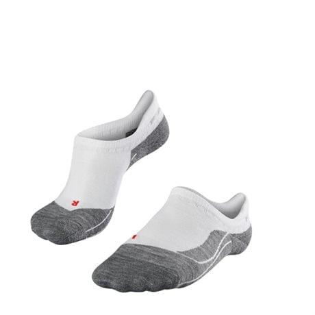 Falke RU4 Invisible Women No Show Socks White Mix