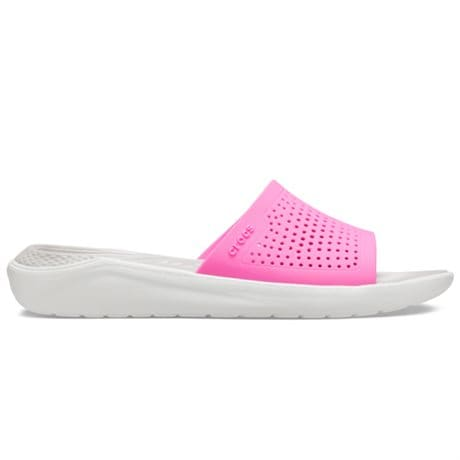 Crocs LiteRide Slide Electric Pink Almost White