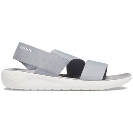 Crocs LiteRide Stretch Sandal Light Grey White