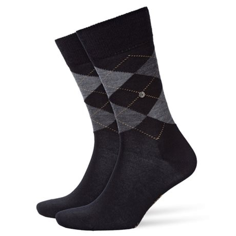Burlington Edinburgh Men Socks Black