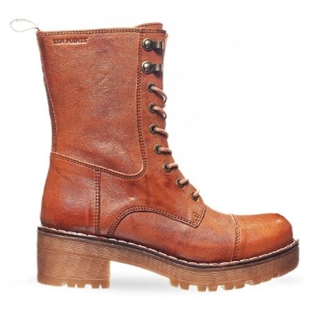 Ten Points Boots Clarisse Cognac hos Minfot.se