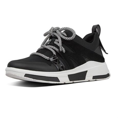 Fitflop Carita Low Top Sneaker Black