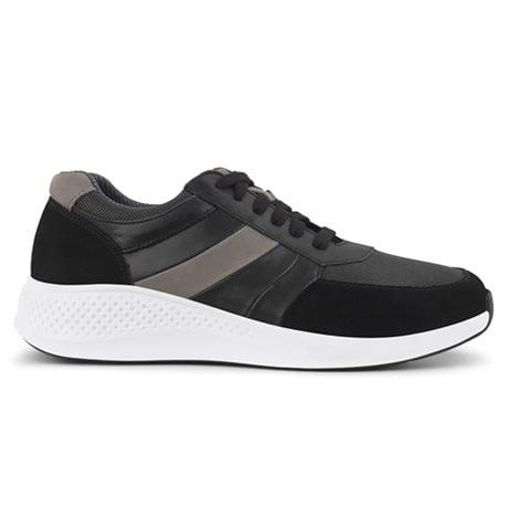 Green Comfort Dolphin Sneakers Men Black