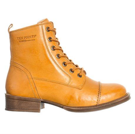 Ten Points Pandora Laced Boots Yolk Mustard