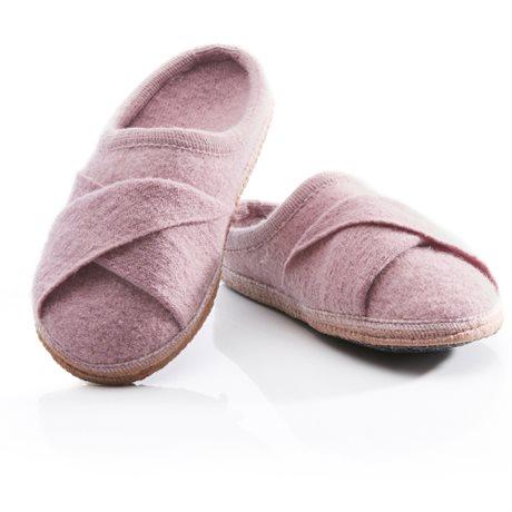 Ulle Ulltofflor Dam Seamless Twist Pink