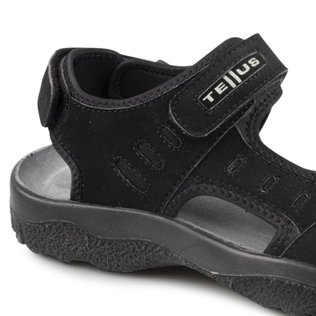 Tellus Sandaler Umeå Black