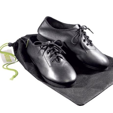 Dadorun Gold Dance Shoe Svart läder