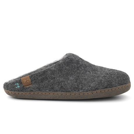 Green Comfort Bhutan Wool Ulltofflor Antracit Grey