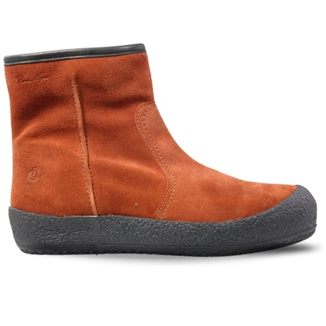 Rosa Negra Zipper Winter Boot Rust