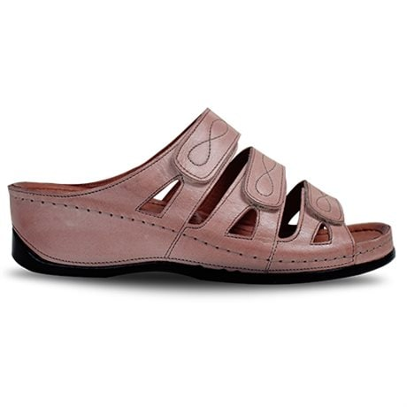 Charlotte Wave Damsandal Old Rose