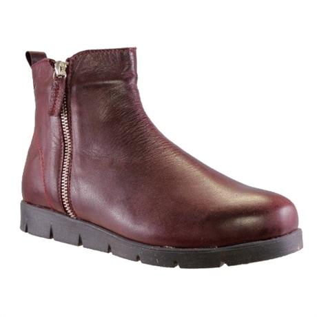 Charlotte Boots Zip Hazel Burgundy