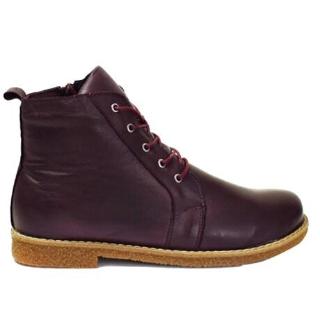 Charlotte Boots Exklusive Willow Burgundy – Fjällturer