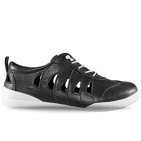 Charlotte Sneaker Open Black