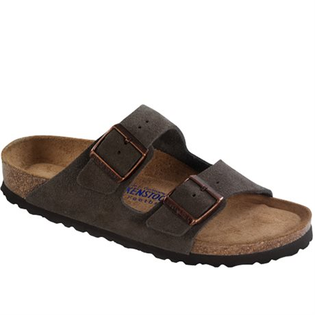 Birkenstock Arizona Soft Footbed Suede Mocca