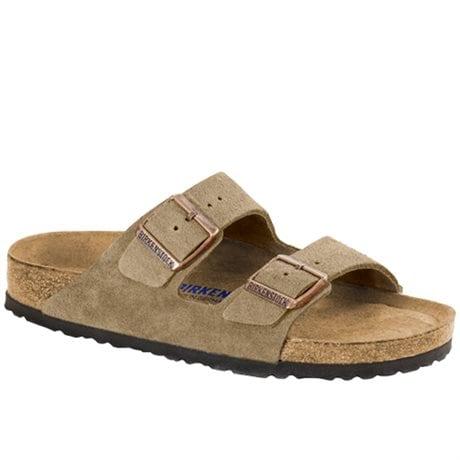 Birkenstock Arizona Soft Footbed Suede Taupe