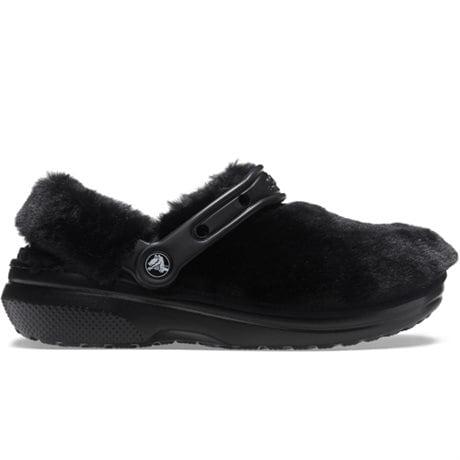 Crocs Classic Clog Fur Sure Black