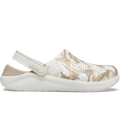 Crocs LiteRide Clog Printed Camo Almost White