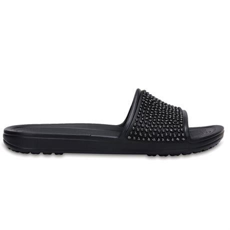 Crocs Sloane Embellished Slide Black