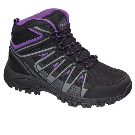 Scholl Havang Bootie Waterproof Black Purple
