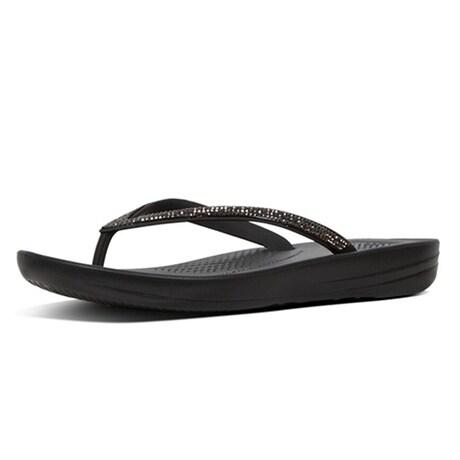 Fitflop Sandaler IQUSHION Sparkle Black