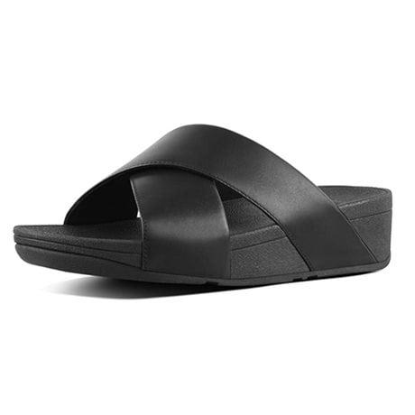Fitflop Sandaler LuLu Cross Black Leather