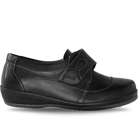 Suave Velcro Bred Black