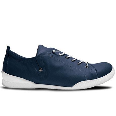 Charlotte Sneaker Lace Dk Blue