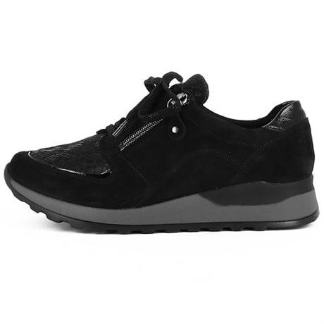 Waldläufer Hiroko-Soft Stretch Denver Taipei Black