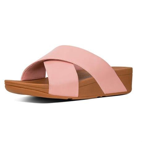 072a2c07c10 Fitflop Damsandal Lulu Cross Slide Dusky Pink