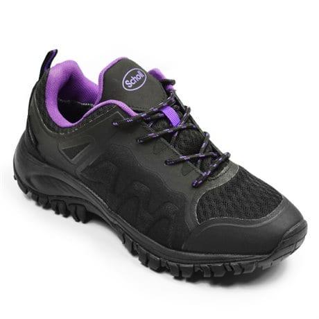 Scholl Sarek Waterproof Black Purple