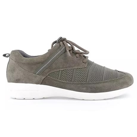 Green Comfort Cloud Lace Stretch Olive