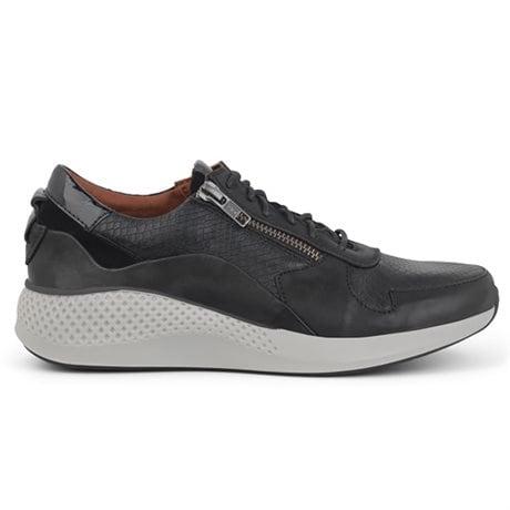 Green Comfort Dolphin Sneakers Black
