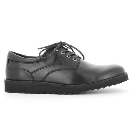 Green Comfort Lace Shoe Herr Black
