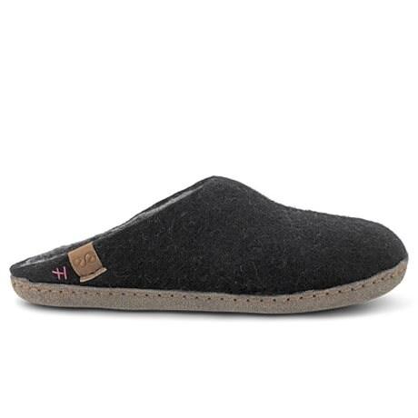 Green Comfort Bhutan Wool Ulltofflor Black