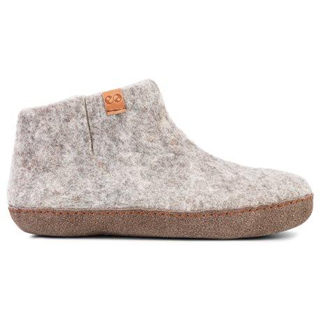 Green Comfort Everest Wool Ulltofflor Light Grey