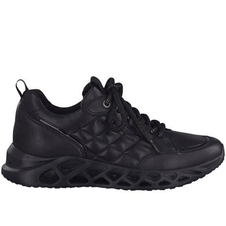 Jana Sneakers Comfort Quilt H Black