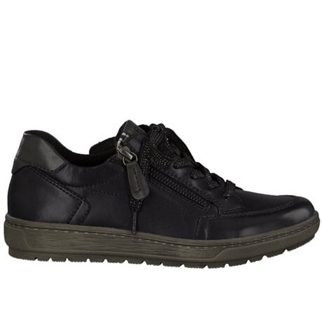 Jana Sneakers Comfort Relax Black