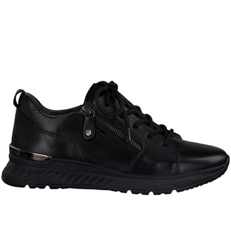 Jana Sneakers Comfort Relax Smooth Tex Black