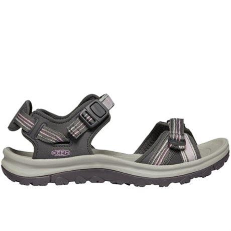 Keen Terradora II Open Toe Sandals Dark Grey Dawn Pink