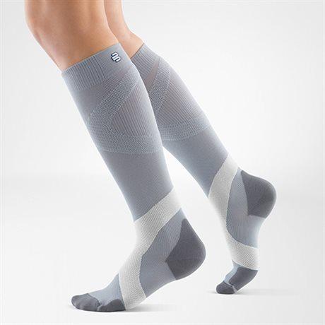 Bauerfeind Compression Sock Training Silver Polar