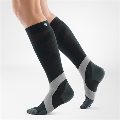 Bauerfeind Compression Sock Training Coal Polar